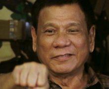 PRESIDENTE FILIPINO: Estaría contento con matar 3 millones de drogadicto….