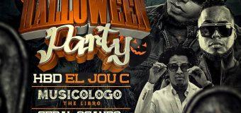 Este Viernes 28 de Octubre celebramos el cumpleaños de El Jou C a nivel de Halloween Party