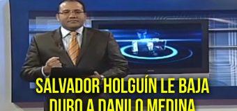 Vídeo: Salvador Holguín le manda fuego a Danilo Medina con el tema de la inseguridad Ciudadana.