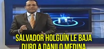 Se le fue la mano al presidente Danilo Medina…