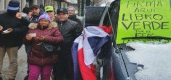 DOMINICANOS EN NY desafían el frío y van a Marcha Verde. OIGA MÁS…