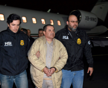El Chapo se enfrenta a cadena perpetua en juicio con fuertes medidas seguridad