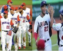 ¡TOQUE DE QUEDA! RD contra EEUU ¡Béisbol cantó el ampaya!