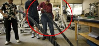 A sus 105 años, el sobreviviente de Pearl Harbor va al gimnasio…