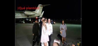 JLO, a su llegada al país, no le hizo caso a la prensa. VIDEO…