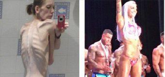 Nicola King, de anoréxica a campeona de fisicoculturismo. VER FOTOS…