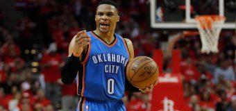 Westbrook hace triple doble y guía al Thunder, Celtics se sacuden