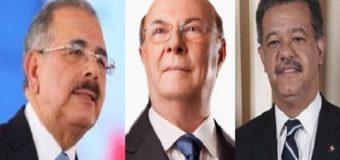 ¿DEBEN APARECER Danilo, Hipólito y Leonel en listado Odebrecth?