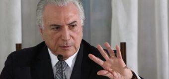 Marchan en Brasil para pedir renuncia del presidente Temer