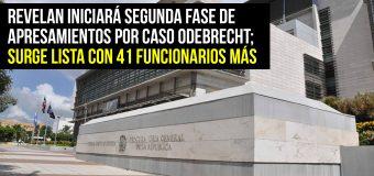 ¡Supuestamente! 41 funcionarios en la mira del MP implicados caso Odebrecht…