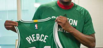 Pierce firma contrato por un día para retirarse como un 'celtics'