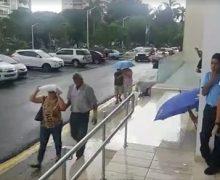 Lluvia impide que cientos de dominicanos observen el eclipse del siglo…
