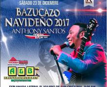 Este 23 de Dic Anthony Santos se presenta en el viajero San Cristobal