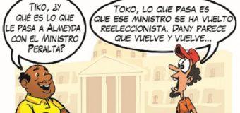 TIKO, TOKO, Almeyda y el ministro Peralta…