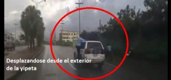 EL COLMO DE UN IMPRUDENTE; sólo en RD. VIDEO…