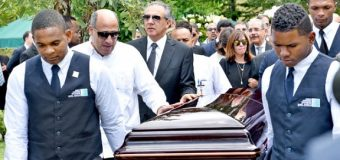"""MINISTRO PERALTA: """"A mami que descanse en paz""""…"""