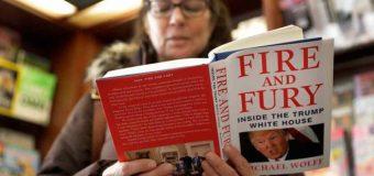 """Se agota libro que """"desnuda"""" a Trump en la Casa Blanca…"""