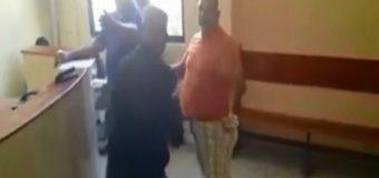 OFICIAL PN agrede prestamista de La Vega. VIDEO…