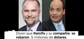 DICEN, NIETO DE TRUJILLO y su compañía le robaron al país 5 millones de dólares…