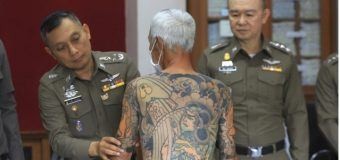 Tatuajes delatan a un capo de la mafia japonesa…