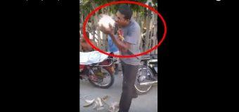 VIDEO: Hombre pela cocos con los dientes en 1 minuto…