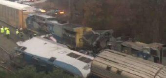 Choque de tren de Amtrak de Nueva York a Miami deja dos muertos y 70 heridos