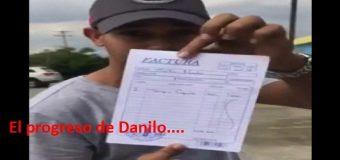 MIREN EL PROGRESO DE DANILO, dice joven. VIDEO….