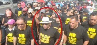 """""""El Torito"""" encabezó marcha en contra del cobro de reinscripción en colegios y universidades"""
