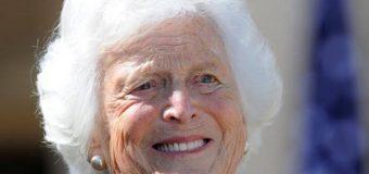 Muere Barbara Bush a los 92 años; ex Primera Dama de EEUU