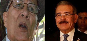 Dan el alta médica al padre del presidente Danilo Medina