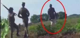 """INACEPTABLE: HAITIANO CON MACHETE """"puso a correr"""" a soldados dominicanos. VIDEO"""