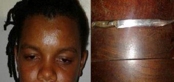 Mujer hiere con cuchillo a cabo de la PN supuestamente al este reclamarle deuda de RD$2,500