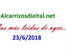 LAS MÁS LEÍDAS DE AYER en la Rep. Dominicana…