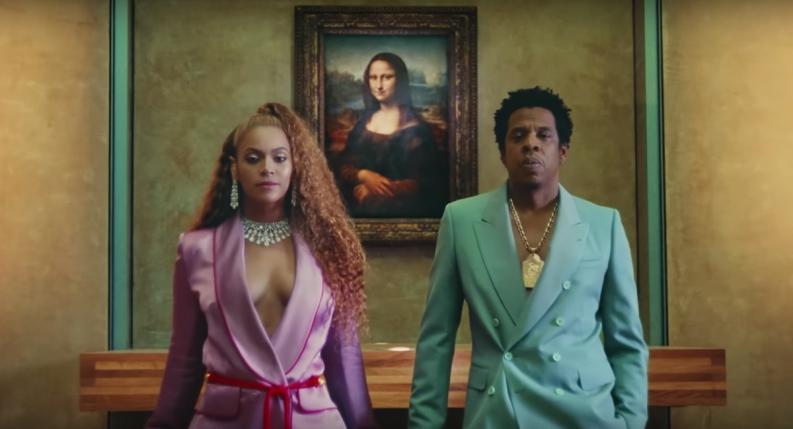 """Beyoncé y Jay Z """"ROMPEN ESQUEMAS"""" con vídeo filmado en el Museo Louvre…"""