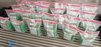 DNCD decomisa 125 paquetes de cocaína en Montecristi