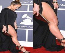 Jennifer López y el furor en Instagram por sus pies…