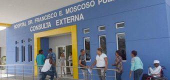 """""""Llueve"""" dentro del recién reinagurado hospital Moscoso Puello…"""