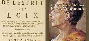 DEL PODER DE LAS PENAS, según Montesquieu….