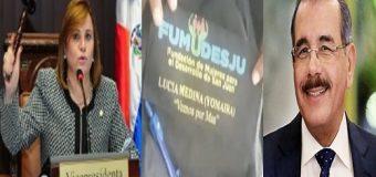 DENUNCIAN HERMANA DE DANILO usa recursos del Estado…