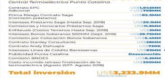 CADA DOMINICANO ha invertido RD16,170 pesos en Punta Catalina…