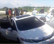 Matan de tres disparos a un hombre cuando se trasladaba en su vehículo