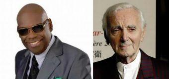 """Charles Aznavour fue padrino de bodas de Michel """"El Buenón"""" y Miosotis"""