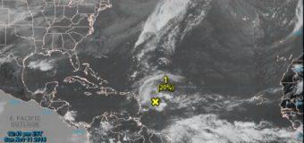 Vigilan fenómeno con posibilidad de convertirse en ciclón que afectaría a RD