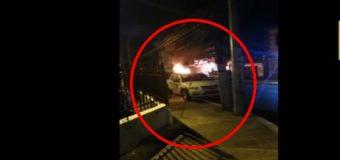 VIDEO: Se incendia un vehículo en el sector Don Bosco…