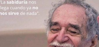 El Gabo poeta…