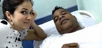 Hospitalizan al merenguero Jandy Ventura tras sufrir desmayo