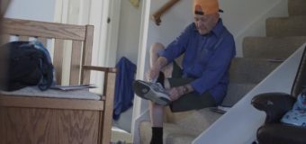 """John Carter, """"el abuelo más atlético del mundo"""" se ha vuelto viral por su activa vida"""