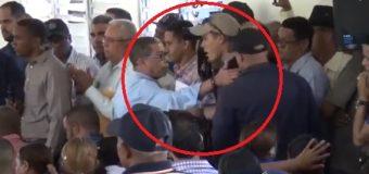 EN DAJABÓN, Sacan por la fuerza a periodistas que cubrían actividad de Danilo Medina