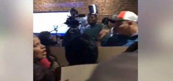 VIDEO: REELECCIONISTAS RECIBEN VISITA SORPRESA en Nueva York