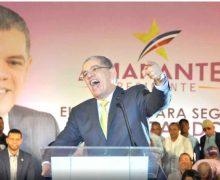 """VIDEO: """"Como los pavos"""", le caen a Leonel en el PLD; ahora es Amarante Baret…"""